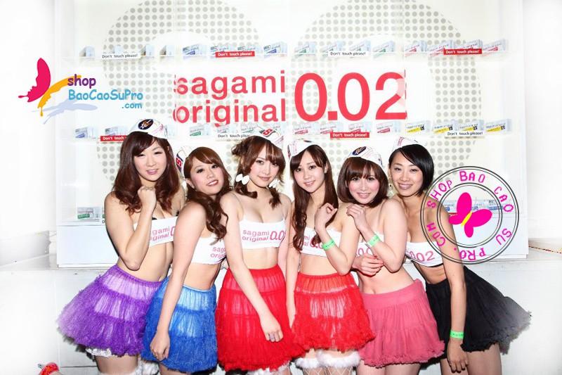 bao cao su sagami original 0.02 siêu mỏng
