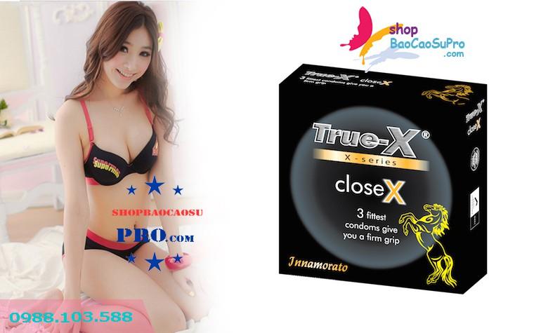 bao cao su size nhỏ Truex CloseX