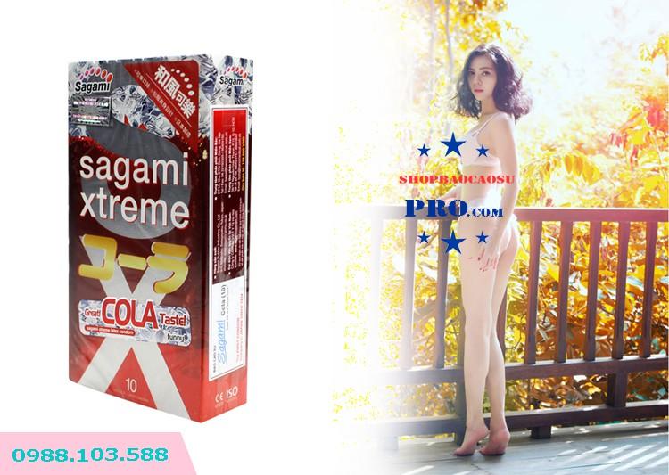 bao cao su xtreme cola hương nước cocacola