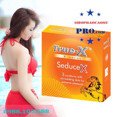 hướng dẫn sử dụng bao cao su true-x-seduceX