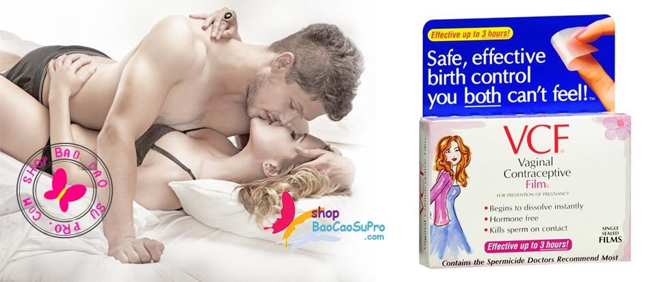 màng film tránh thai vcf