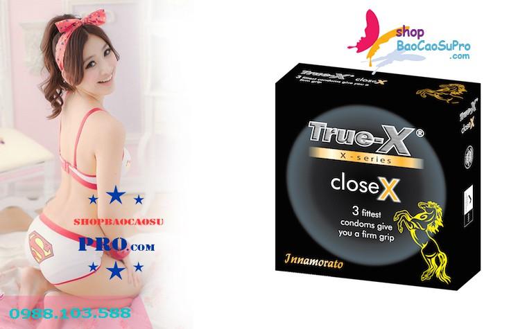 ôm siêu khít với bao cao su Truex CloseX