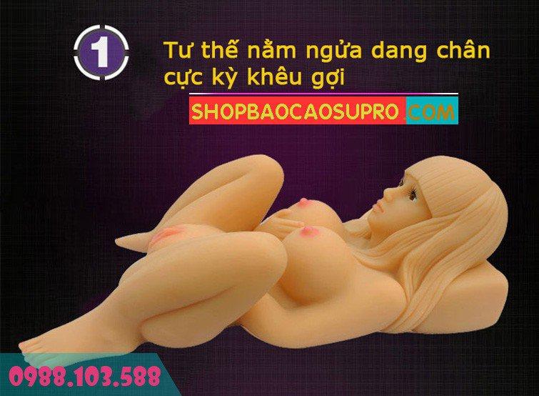 búp bê tình dục angela nằm ngửa kích thích