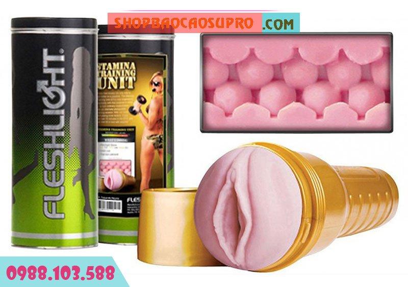 âmđạogiả Pink Lady Stamina Training Unit STU Fleshlight thiết kế đẳng cấp