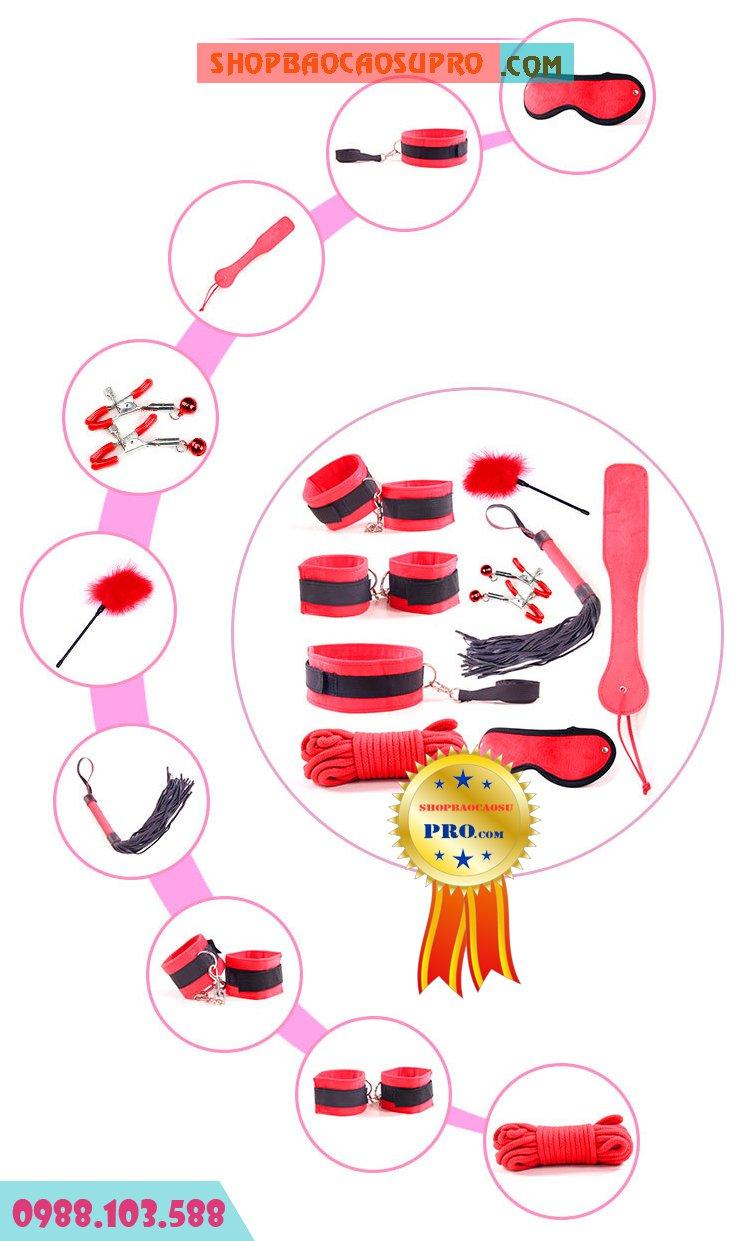 9 món đồ chơi khổ dâm được làm từ vải cao cấp