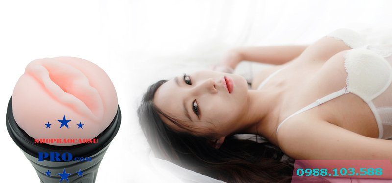 âm đạo giả đèn pin gắn tường môi hồng giống thật