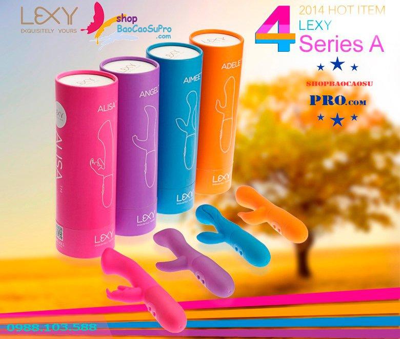đồ chơi tình dục alisa 4 màu sắc