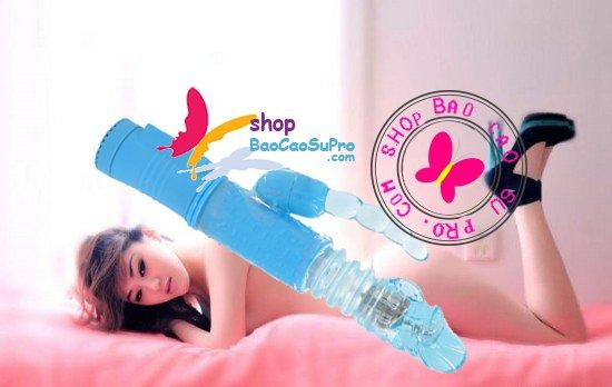 đồ chơi tình dục dương vật giả đăng năng rung xoay thụt