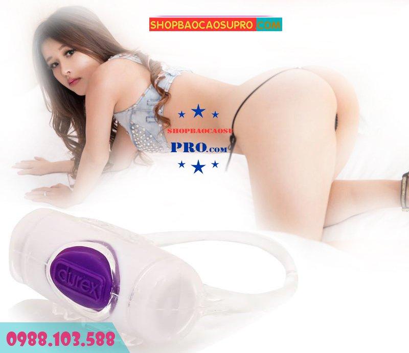 vòng rung Durex Vibrating Ring kích thích gia tăng khoái cảm