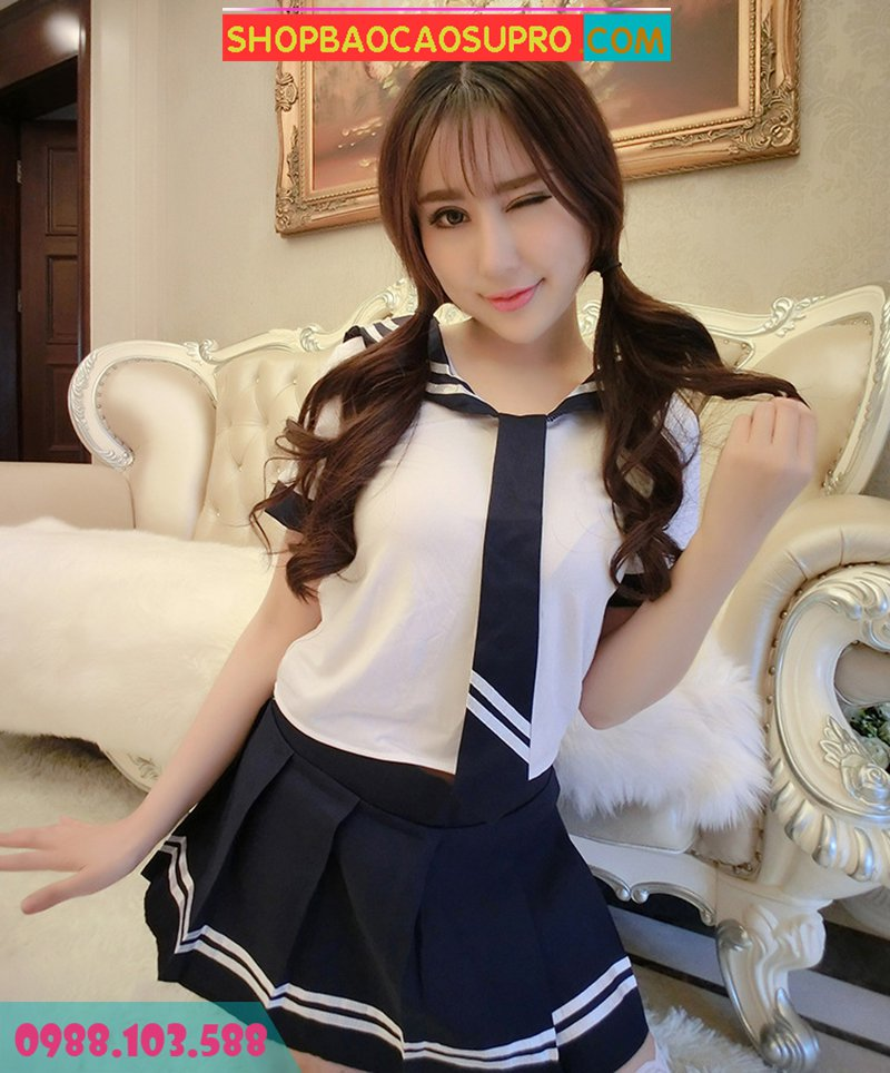 đồ ngủ cosplay korean student free size