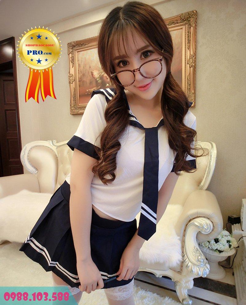 đồ ngủ cosplay korean student nữ sinh hàn gợi cảm tạo hứng yêu