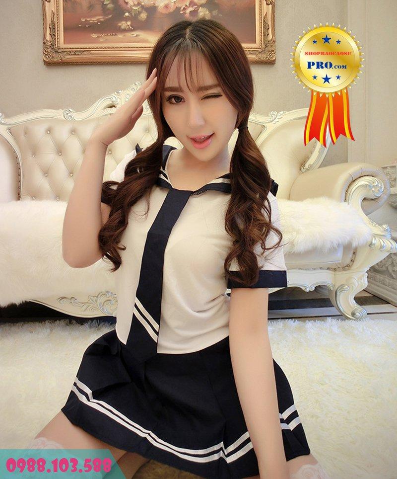 đồ ngủ cosplay korean student phù hợp cô nàng trẻ trung
