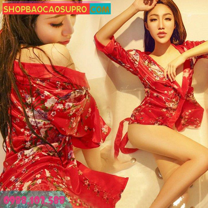 đồ ngủ kimono review c