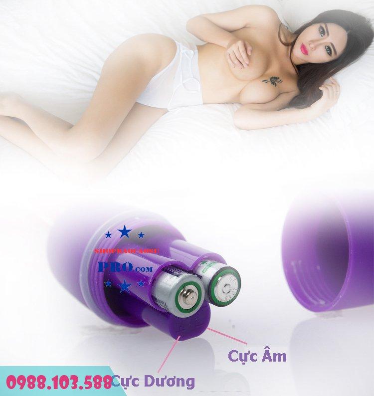 hướng dẫn nắp pin sex toy trứng rung không dây model