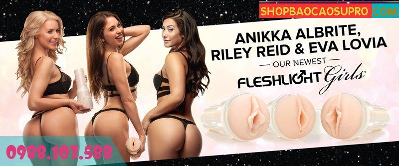sex toy âm đạo giả Fleshlight Jesse cấu tạo giống thật