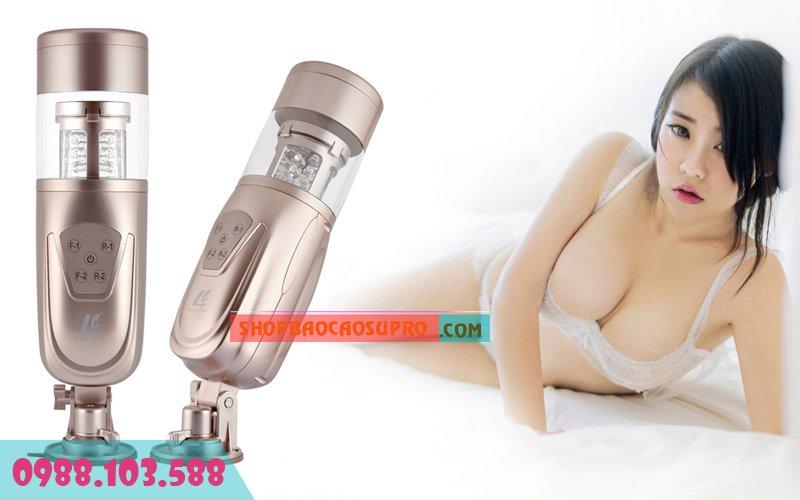 sex toy âm đạo giả thủ dâm tự động strong suction cup có thiết kế hiện đại