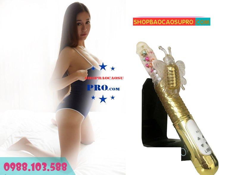 Sex toy dương vật giả Lightning Vibrator 36 chế độ rung