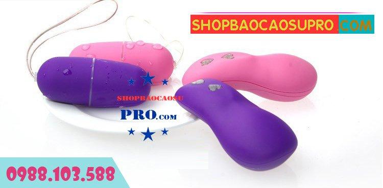 Sex toy trứng rung không dây model thiết kế đẹp thời trang