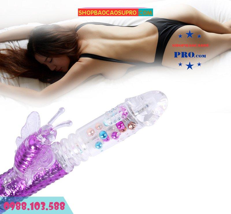 Sex toy dương vật giả siêu tính năng Lightning Vibrator massage âm đạo