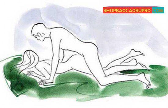 tư thế quan hệ úp thẳng