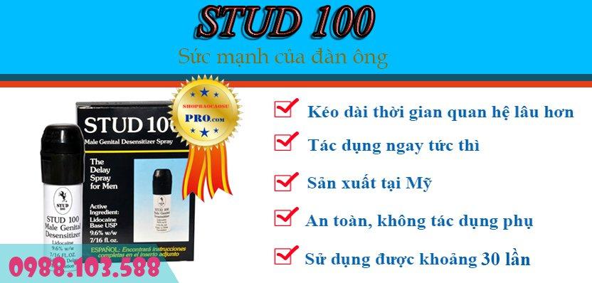 stud 100 kéo dài thời gian quan hệ
