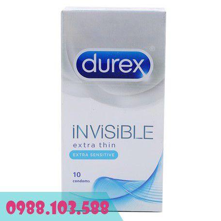 Bao Cao Su Durex Invisible Extra Thin