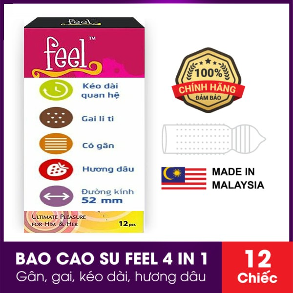 Bao cao su Feel 4 in 1