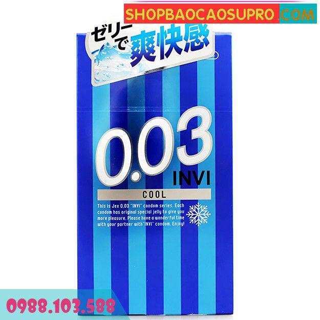 Bao Cao Su Jex Invi 0.03 Cool