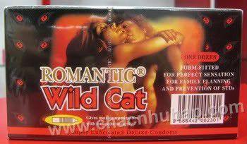 Bao cao su Romantic Wild Cat