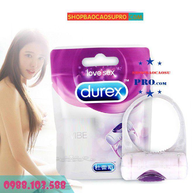Vòng Rung Durex Vibrating Ring Cao Cấp Tăng Khoái Cảm Tình Dục