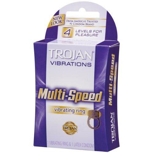 Vòng Rung Trojan Multi Speed Vibrating Ring