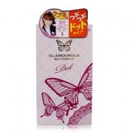 Đẳng Cấp Vượt Trội Với Bao Cao Su Jex Glamourous Butterfly Dot - Hạt Ngọc Trai Nổi