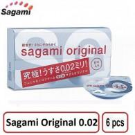 Chống Dị Ứng với Bao Cao Su siêu mỏng số 1 thế giới Sagami Original 0.02 Quick - Chỉ mỏng bằng 1/3 sợi tóc