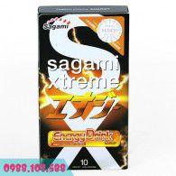 Bao Cao Su Sagami Xtreme Energy Siêu Khít, Siêu Mỏng, Hương Samurai