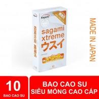 Bao cao su Sagami Xtreme Super Thin - Siêu mỏng