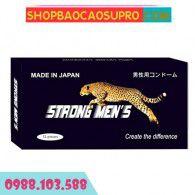 Bao cao su Strong Men's gân gai - Nhập Khẩu Nhật Bản