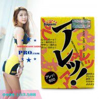 Bao Cao Su Sagami Super Dots One Stage - Ôm Sát Vừa Khít - Siêu Mỏng -  Gai Nhỏ Cọ xát