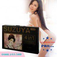 Yêu Lâu Hơn  Với Bao Cao Su Suzuya 4 in 1 - Gân Gai Siêu Mỏng