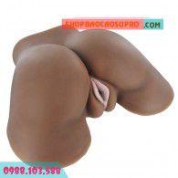 Búp bê tình dục vòng ba châu phi với làn da nâu vô cùng quyến rũ