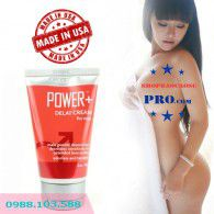 Gel ( Kem ) Bôi Trơn giúp yêu lâu hơn Power Delay Cream For Men