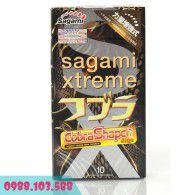 Bao cao su Sagami Xtreme Cobar - Mỏng, mềm, mượt, chống trơn tuột tối đa với thiết kế hình rắn hổ mang