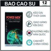 Bao Cao Su Power Men Cá ngựa