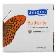 Bao Cao Su UNIDUS Butterfly Dotted Type