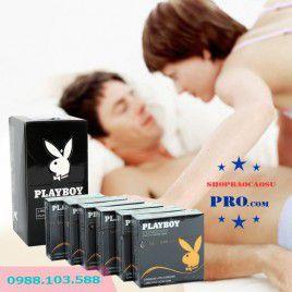 Ôm cực khít – Sướng như thật với 5 HỘP bao cao su Playboy Ultra Thin