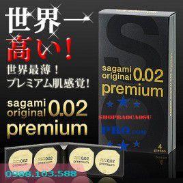Bao Cao su Sagami Original 0.02 Premium