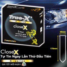 Bao cao su True-X CloseX