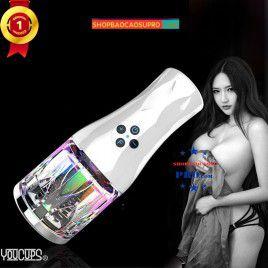 Âm đạo giả cho nam 6 chế độ Luân Chuyển Youcup có đèn led sành điệu