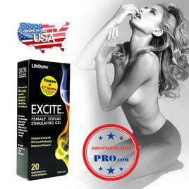 Gel bôi trơn tăng khoái cảm  Excite - Công thức đặc biệt cho vùng kín trơn mượt và sung sướng đê mê