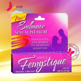 Gel bôi trơn tăng khoái cảm Femystigue - Công thức hoàn hảo cho phái nữ tăng thêm cảm giác ham muốn