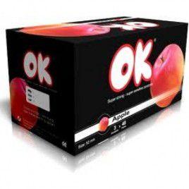 Bao Cao Su OK Deluxe Với Hương Trái Cây - Gel Bôi Trơn – hộp 144 chiếc